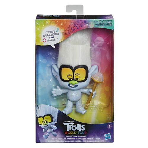 DreamWorks Trolls World Tour Rappin' Tiny Diamond Doll