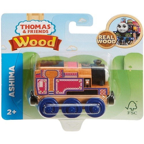 Ashima Thomas and Friends Wood Train