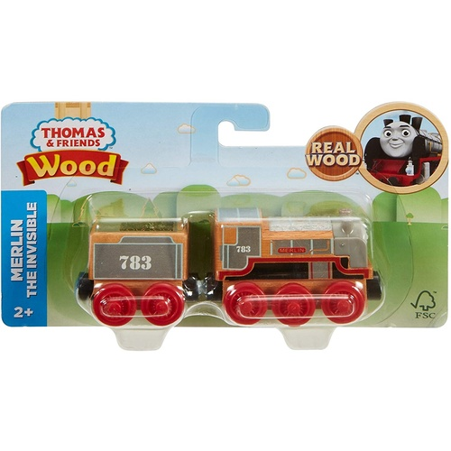 Merlin The Invisible Wooden Train Large Thomas and Friend