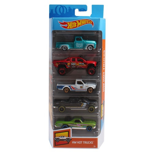 Hot Wheels HW Hot Trucks 5 Pack