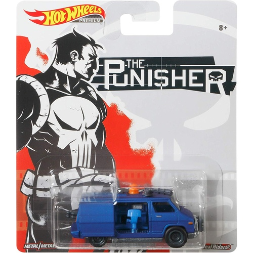 Hot Wheels Premium The Punisher Van
