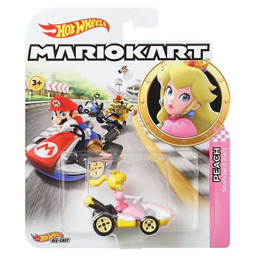 Hot Wheels Mario Kart Peach Standard Kart
