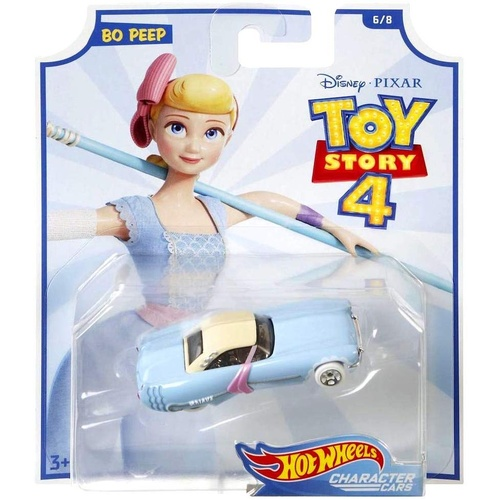 Hot Wheels Toy Story 4 Bo Peep Character Cars
