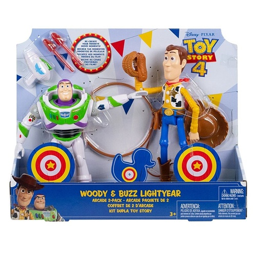 Woody and Buzz Lightyear Figures Arcade 2-Pack