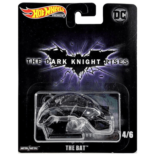 Hot Wheels Premium The Bat The Dark Knight Rises