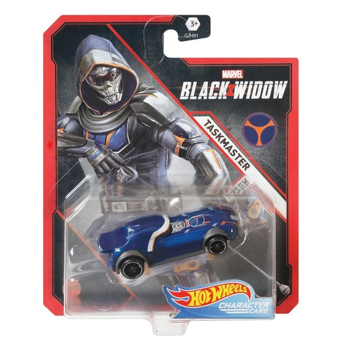 Hot Wheels Marvel Taskmaster Character Cars