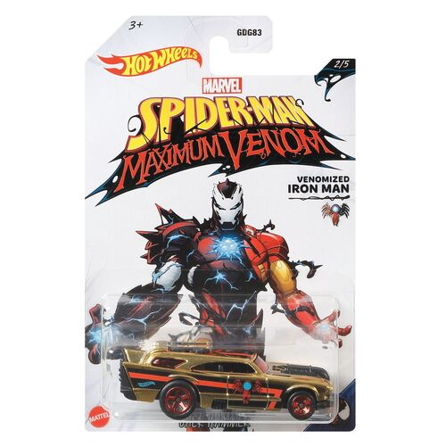 Hot Wheels Venomized Iron Man Jack Hammer 2/5
