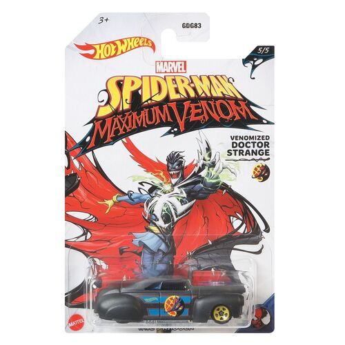 Hot Wheels Venomized Captain Doctor Strange Tail Dragger 5/5