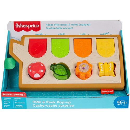 Fisher Price Hide and Peek Pop Up