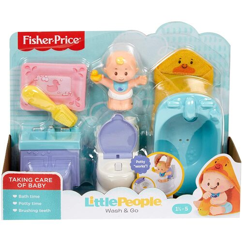 Fisher Price Little People Wash and Go
