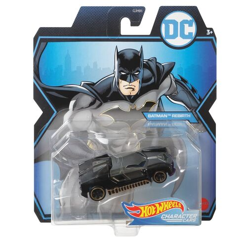 Hot Wheels Batman Rebirth Character Cars