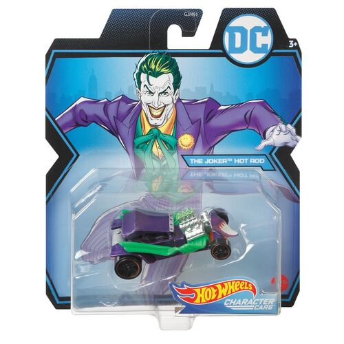 Hot Wheels The Joker Hot Rod Character Cars