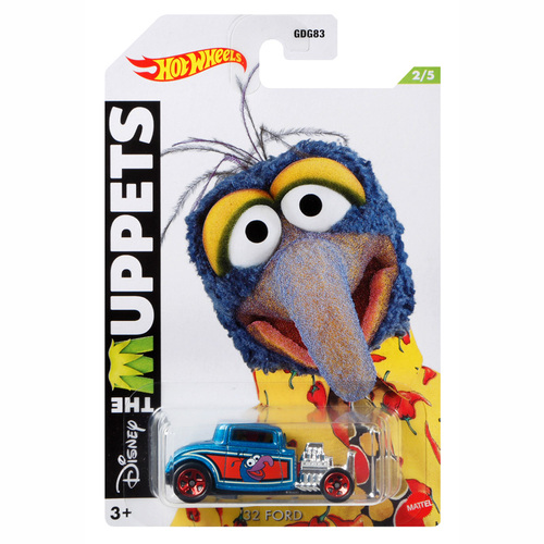 Hot Wheels Disney The Muppets Gonzo '32 Ford