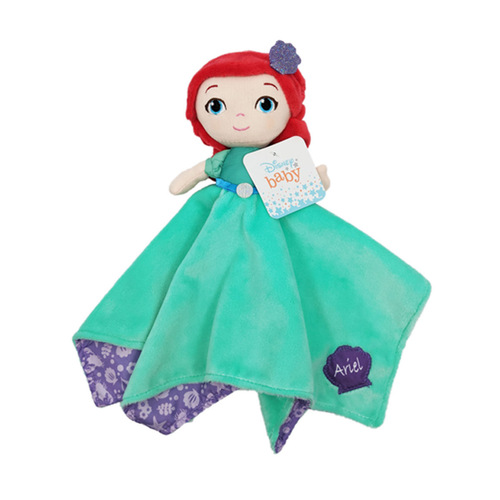 Disney Princess Ariel Plush Blanky