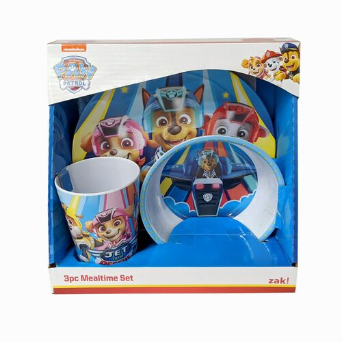 Paw Patrol Mealtime Set 3 Piece by Zak!