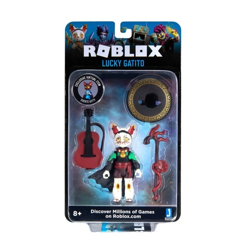 Roblox Lucky Gatito Figure Pack