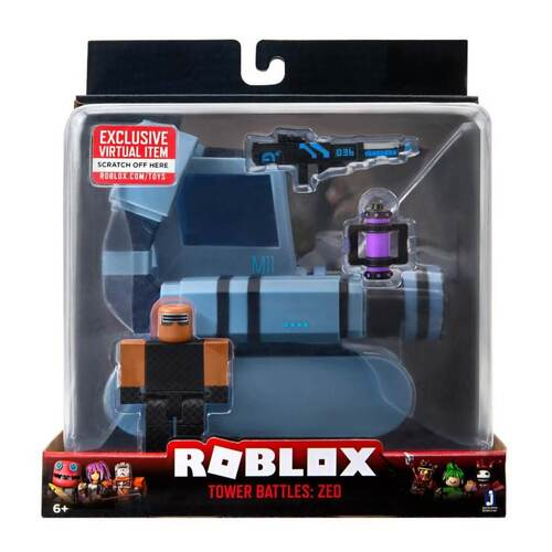 Roblox Tower Battles Zed Figure and Vehicle