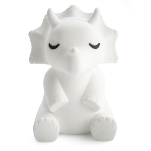 Lil Dreamer Triceratops Silicone Touch LED Lamp