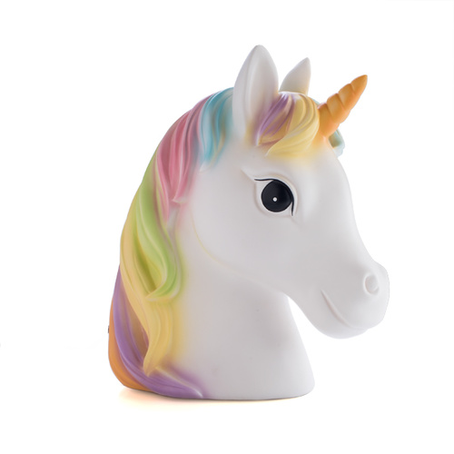 Table Lamp Unicorn Rainbow Night LIght